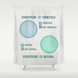 Everything is.. Shower Curtain