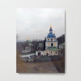 Travel to the city of Kiev Ukraine Metal Print