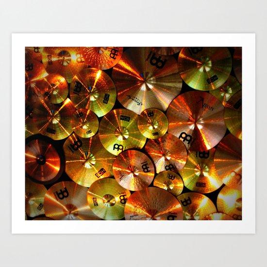 Cymbals fine art photography Art Print