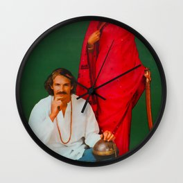 Invade India Travel Poster Wall Clock
