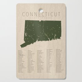Connecticut Parks Cutting Board