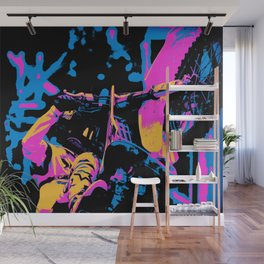 What a Ride! - Motocross Rider Wall Mural