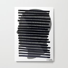 redacted. Metal Print