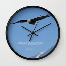Soaring High!  -  Mature Wall Clock