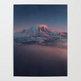 Mount Rainier Seattle Washington Poster