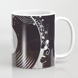 Retro record Coffee Mug