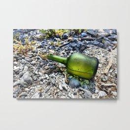 Empty Bottle Metal Print