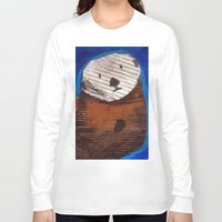 otter Long Sleeve T-shirts featuring Otter by Cre8tive Papier