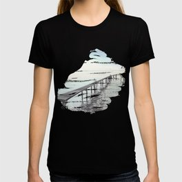 Ammersee in Bavaria - T-Shirt-Design T-shirt