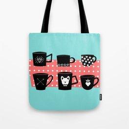 Coffee Mugs Collection Tote Bag
