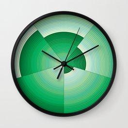 36 Green tones Wall Clock