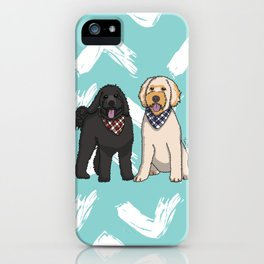 Ramble and Winter iPhone Case