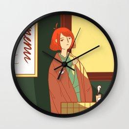 Coffee For Wednesdays Wall Clock
