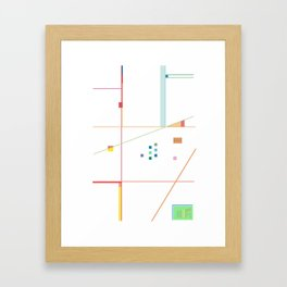 Inset Framed Art Print