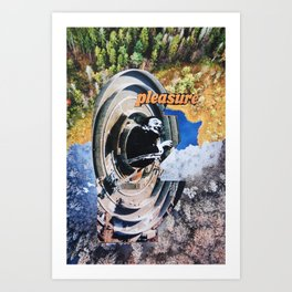 Dali Pleasure Art Print