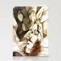 macaron Stationery Cards featuring macaron by arriku