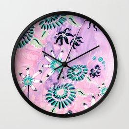 Pink Rhapsody Wall Clock