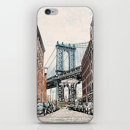 Dumbo New York City iPhone Skin