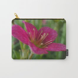 Saxifrage Flower Carry-All Pouch