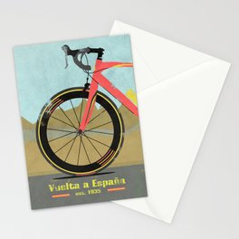 Vuelta a Espana Bike Stationery Cards