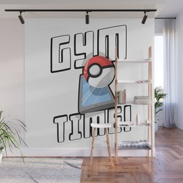 Gym Time Wall Mural
