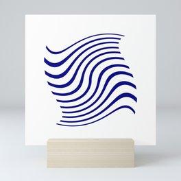 marinière mariniere in the wind Mini Art Print