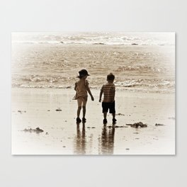 Seaside Memories Canvas Print