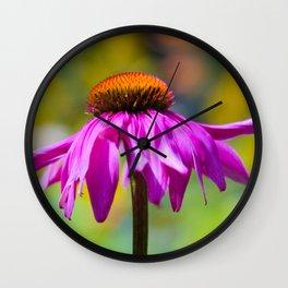 flower in the garden Wall Clock