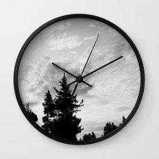 MORNING WOOD Wall Clock
