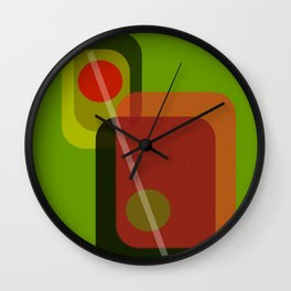 Don't Forget the Olives Wall Clock