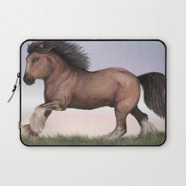 Gypsy Vanner Horse Laptop Sleeve