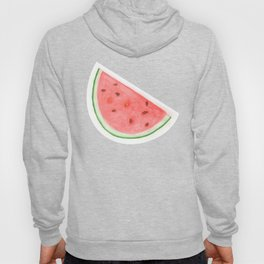 Watercolour Watermelon Hoody