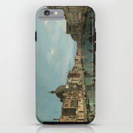 A View of the Grand Canal by Canaletto iPhone Case