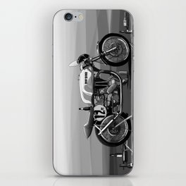Beer Savage Vintage Norton Cafe Racer iPhone Skin
