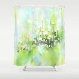 Klee - clover Shower Curtain