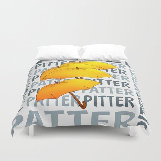 Umbrella  Pitter Patter Duvet Cover