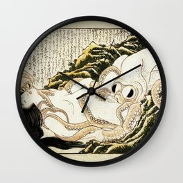 Dream of the Fisherman's Wife - Mad Men Wall Clock