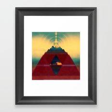 Focus.Vibration Framed Art Print