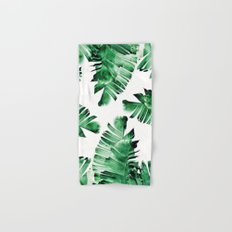 banana leaves Hand & Bath Towel