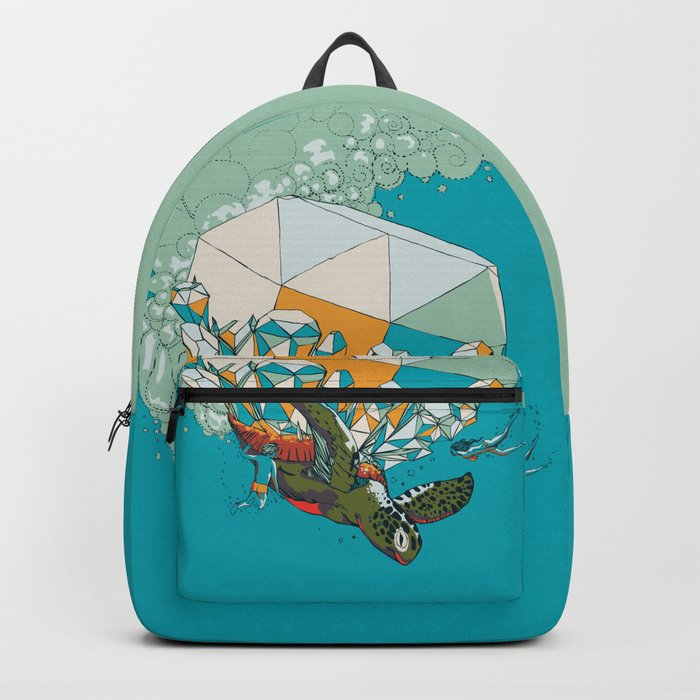 TURTLE& THE DIAMONDS Backpack