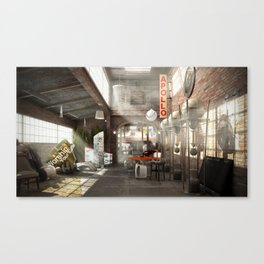 /warehouse Canvas Print
