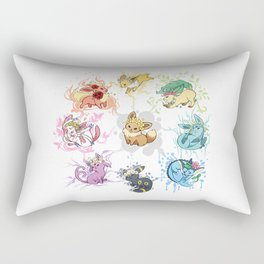 Eeveelutions Rectangular Pillow