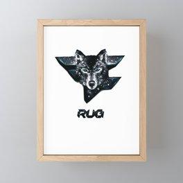 faze rug Framed Mini Art Print
