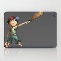 earthbound iPad Cases featuring Slugger by Rachel Isaacs