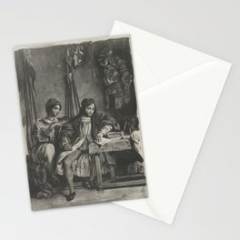 Goetz von Berlichingen Writing His Memoirs,1836–43 Stationery Cards