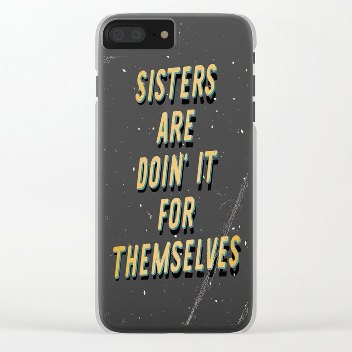 Sisters are doin' it for themselves - A Hell Songbook Edition Clear iPhone Case