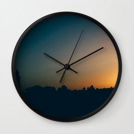 Moroccan Sunset Wall Clock