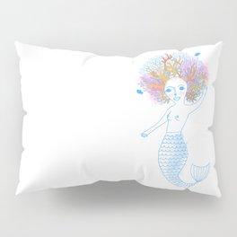 Coral the Mermaid Pillow Sham