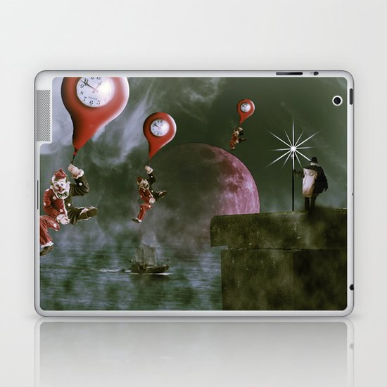 Time travel Laptop & iPad Skin