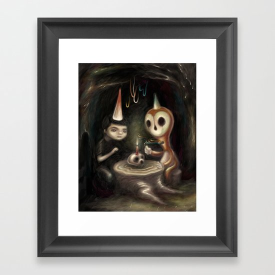 Another Year Closer Framed Art Print